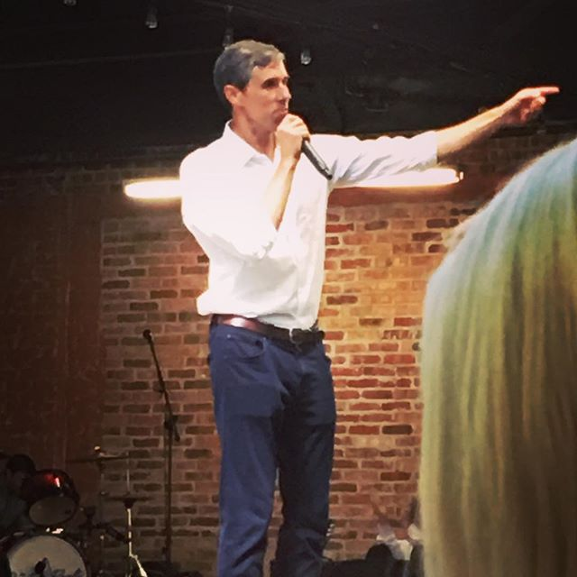 Beto bringing the message #preachit