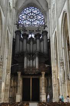 Cavaille-Coll organ at Saint-Ouen in Rouen, France