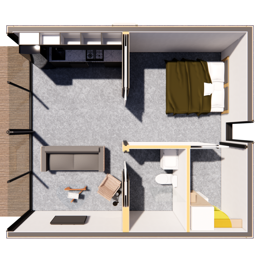 Pitch ADU sample floor plan