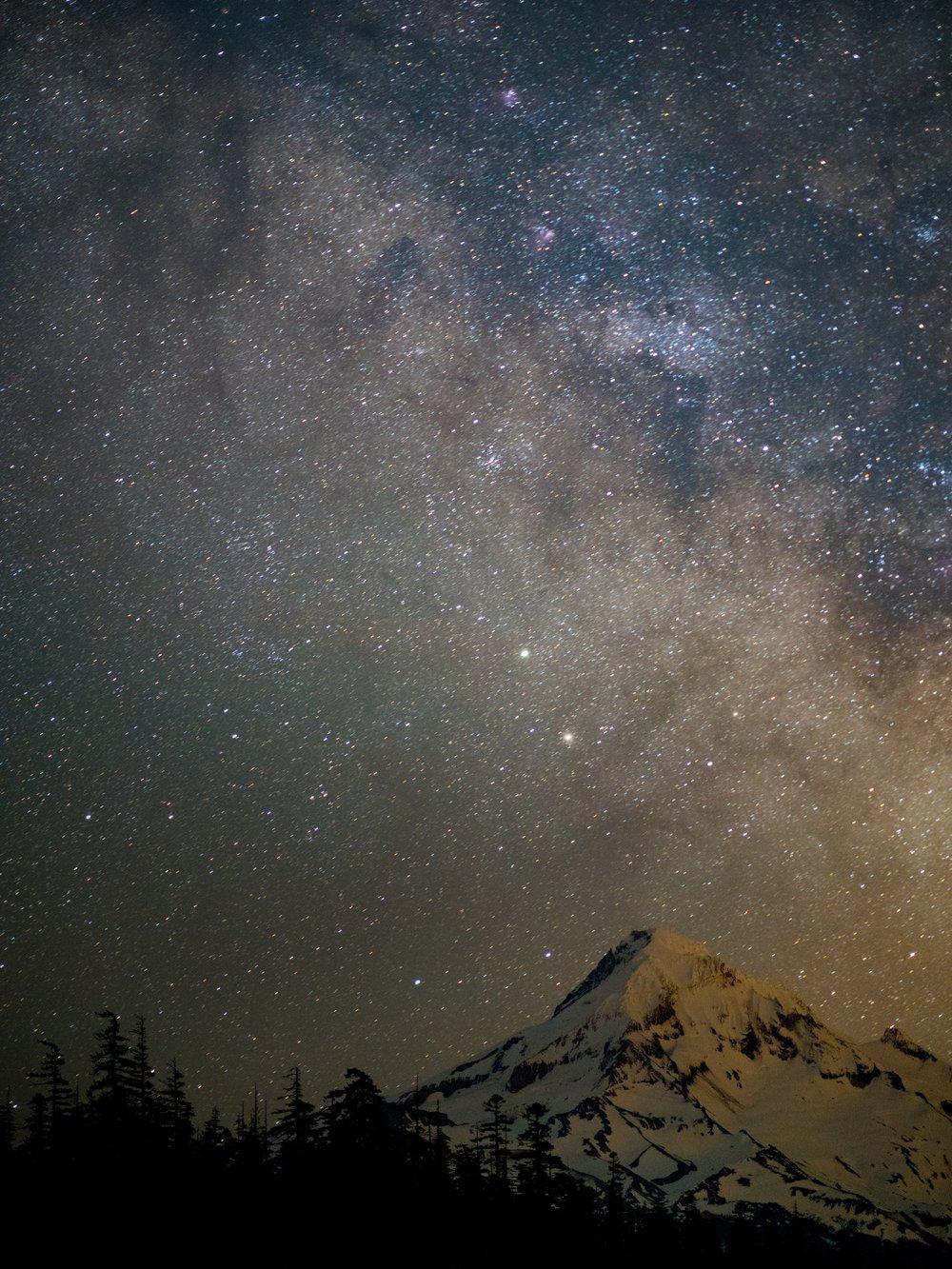 night sky -