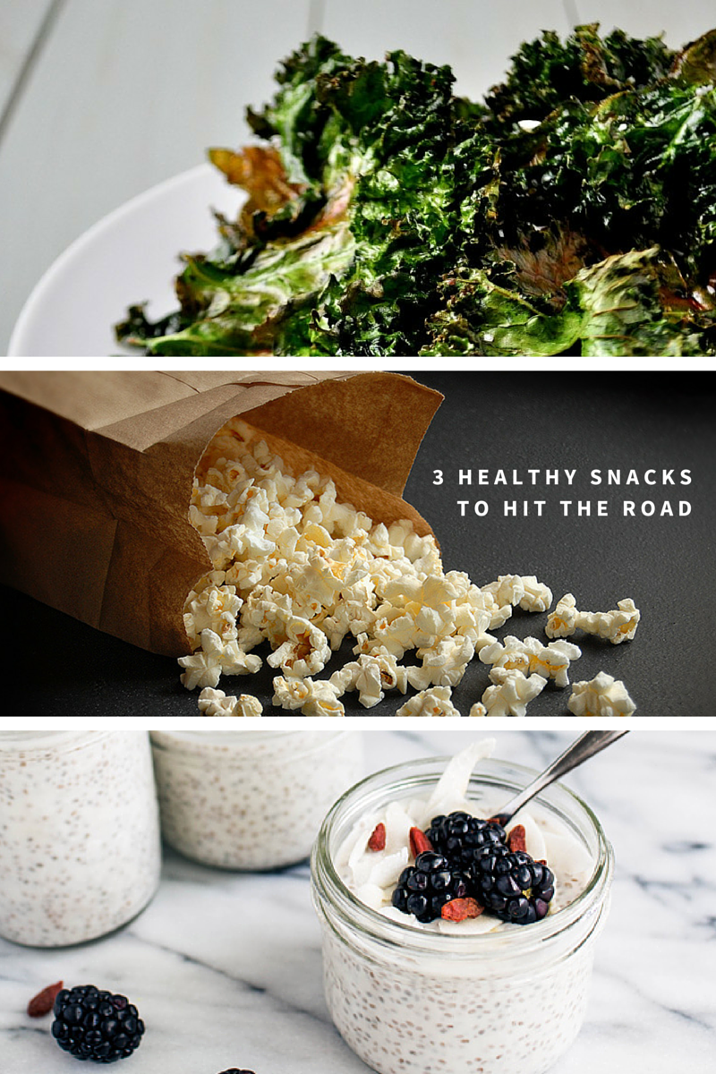 3 healthy snacks to hit the road