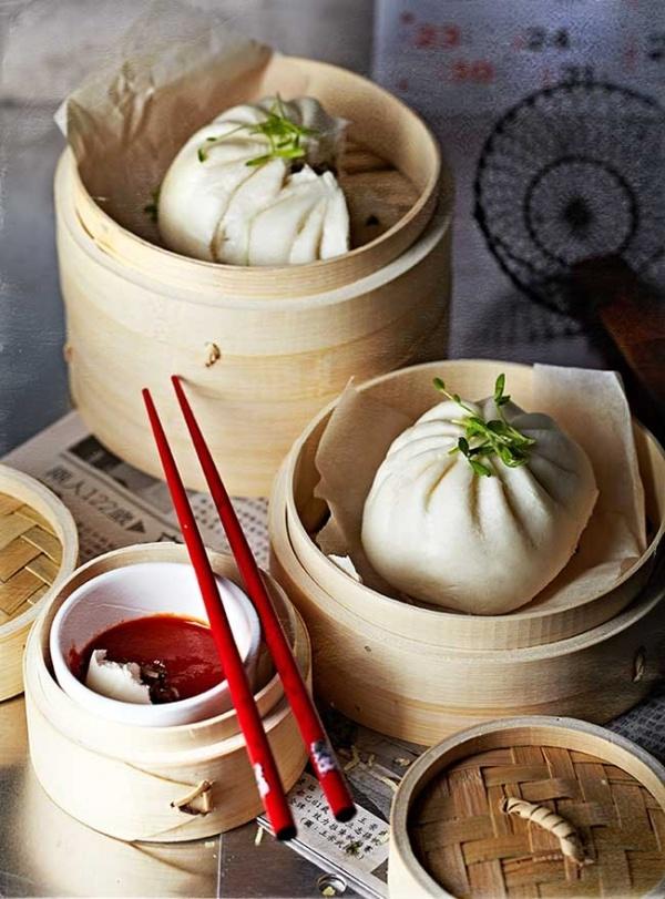 veggie dumplings