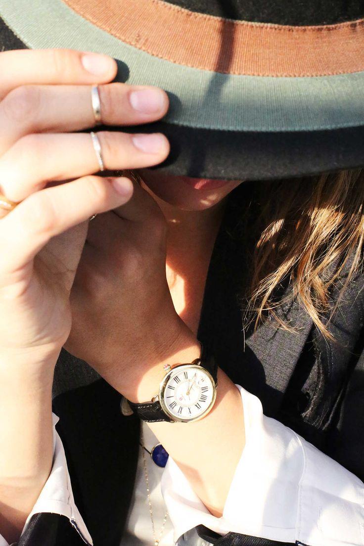 hiding under a hat