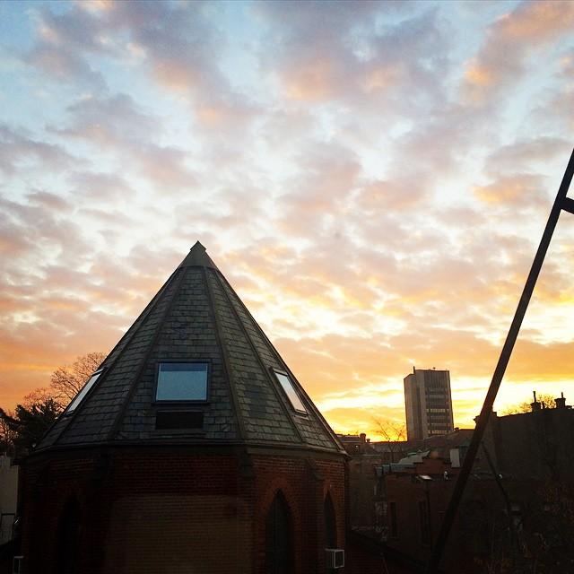 sunrise in hoboken