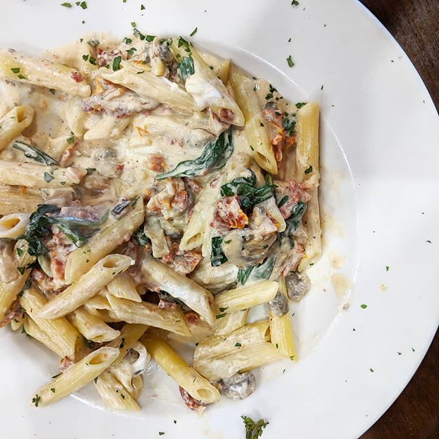This pasta brought to you by the Fall Menu 🍁 starting today!