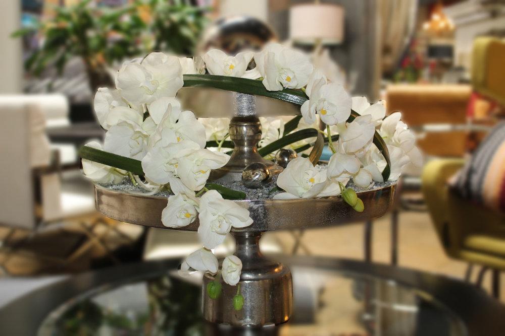 2 Tier Contemporary Floral