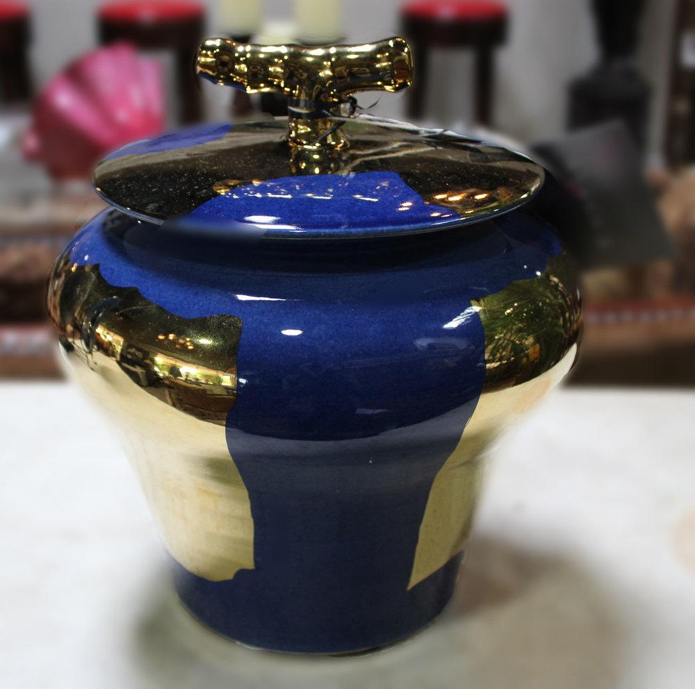 Large Brill Jar by Currey & Company