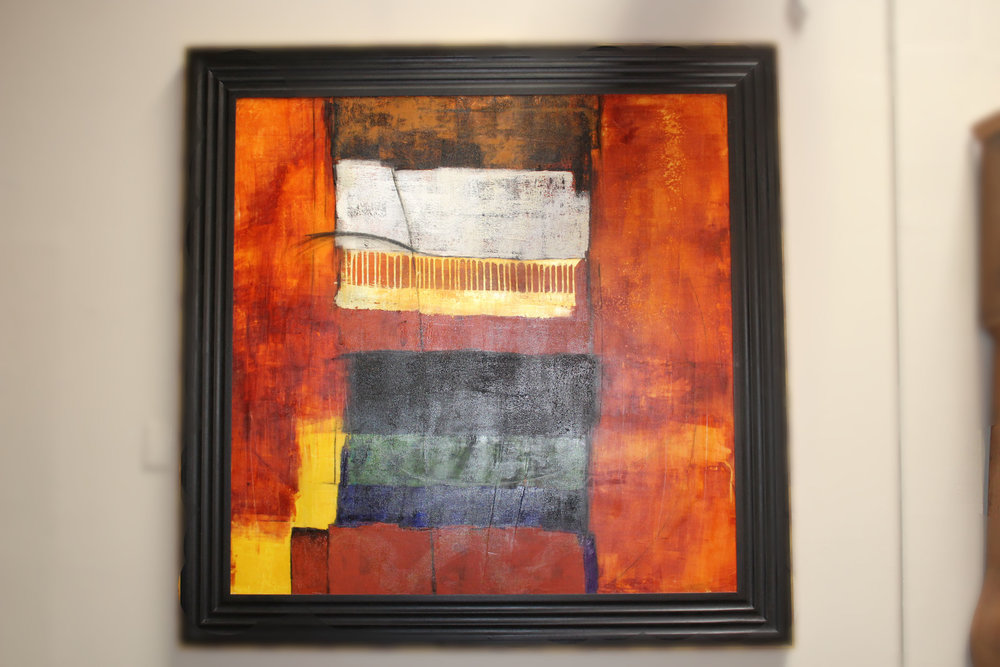 Contemporary Abstract by Tanner