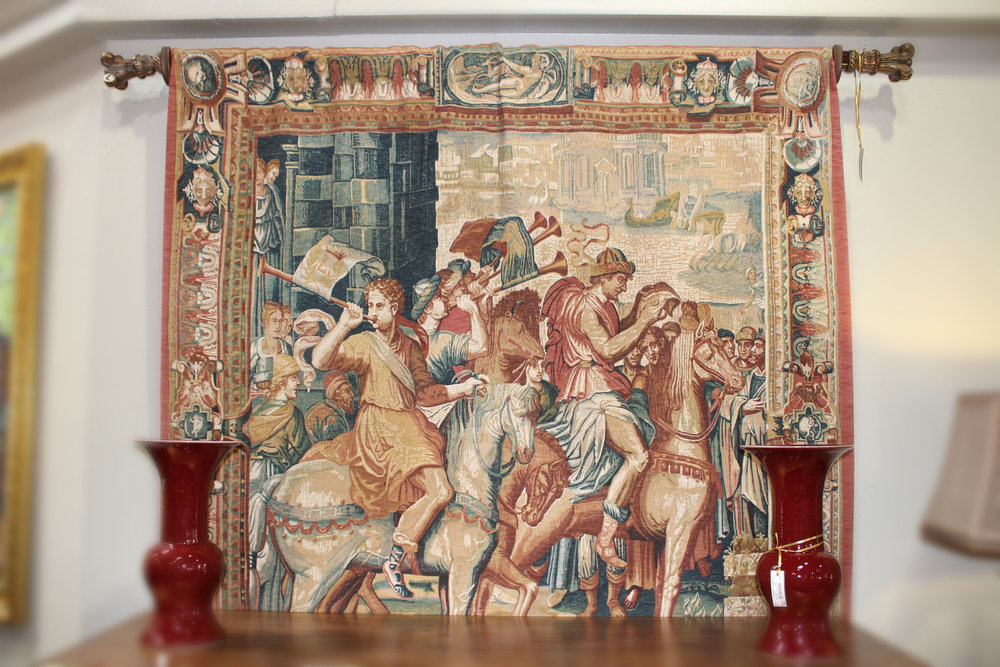 House of France Old World Les Heratus Tapestry