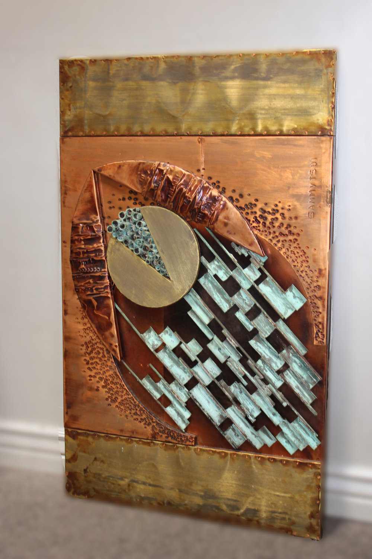 Metal Media Copper Art by Sammy Tsul