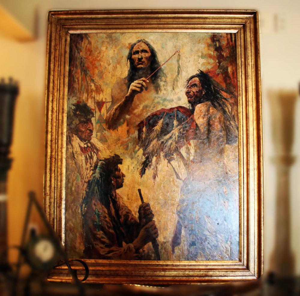 T. Roy Denon Native American Art