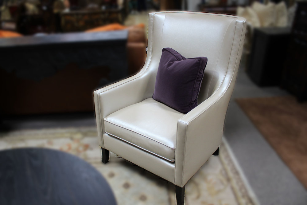 NEW Pair of Bernhardt Wingback Chairs