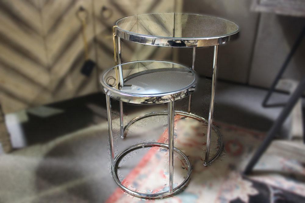 New Chrome Nesting Tables