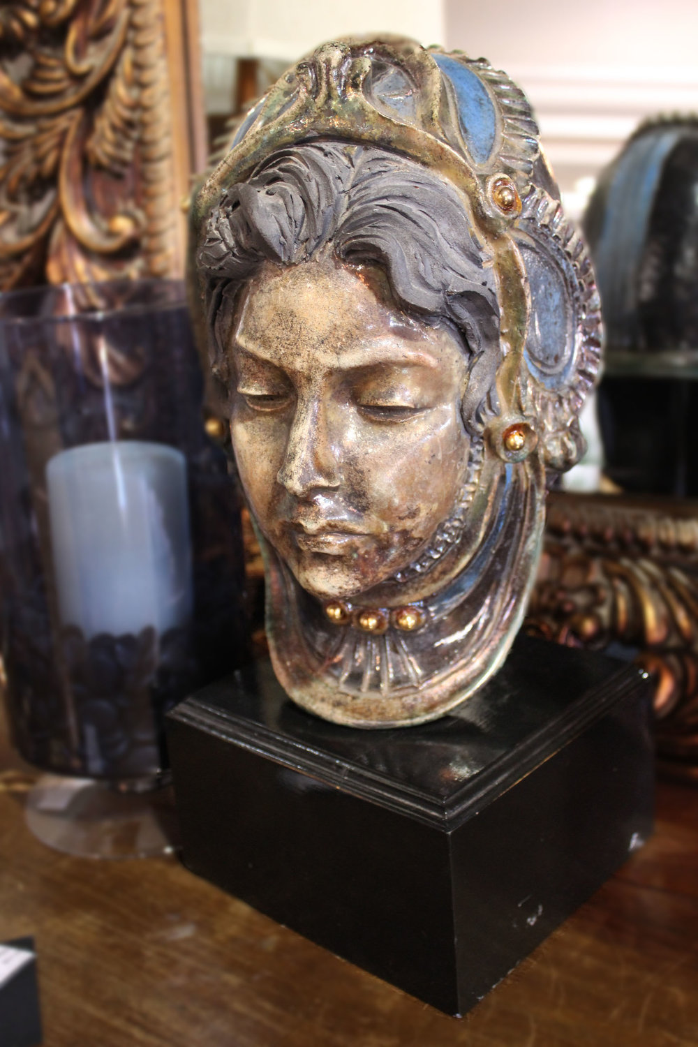 Lady Bust on Stand