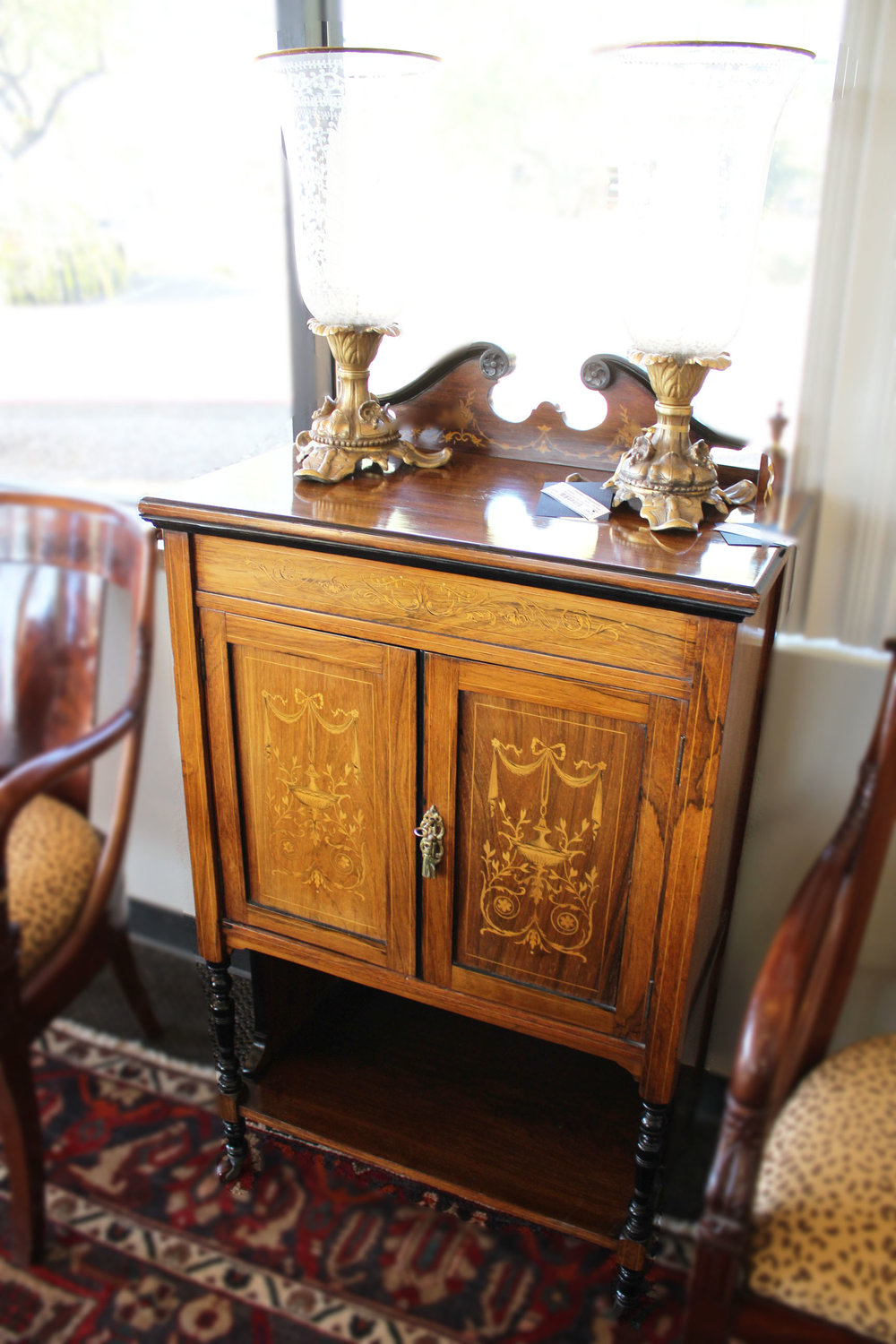 Antique Cabinet on Wheels