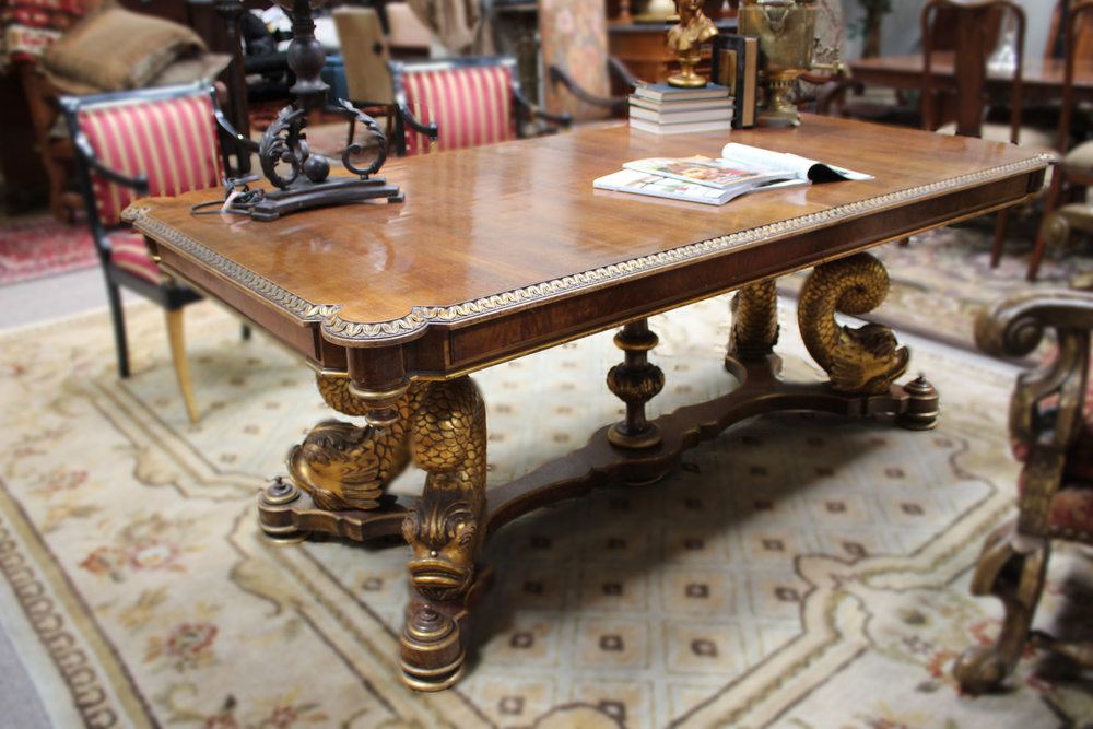 Gold Fish Dining Table
