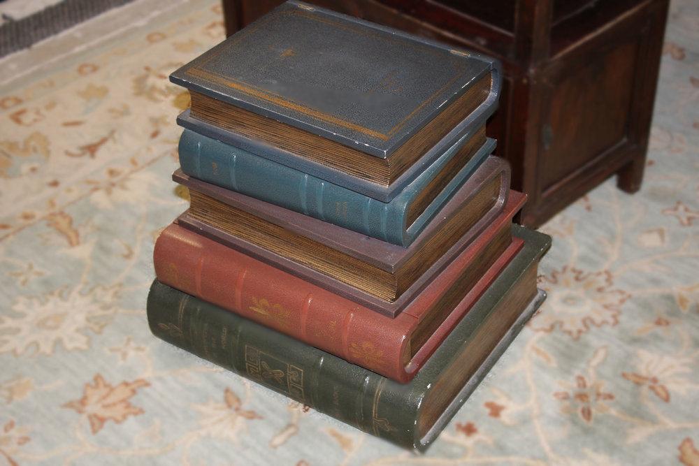 Maitland Smith Stacked Books