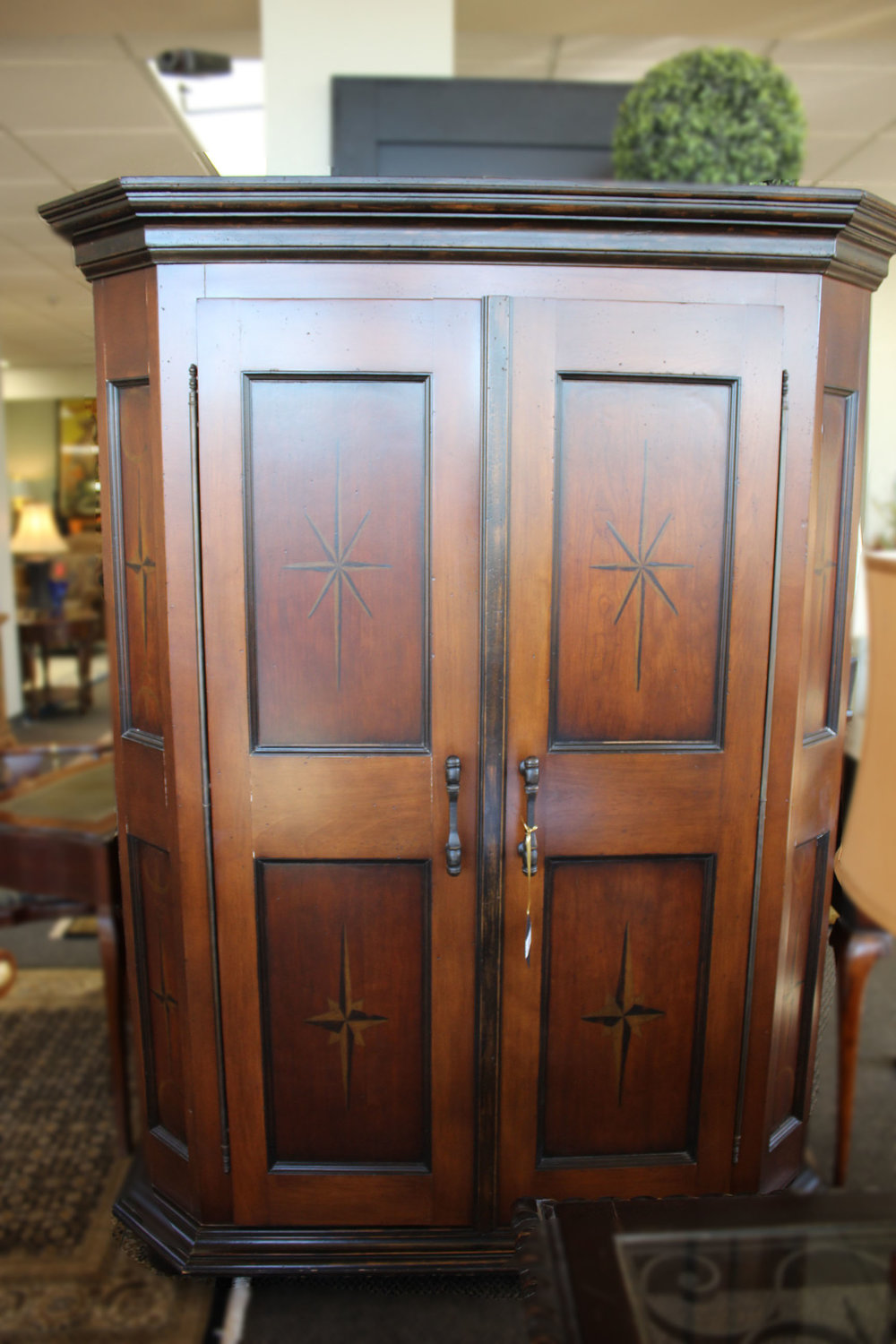 Painted Spanish Armoire