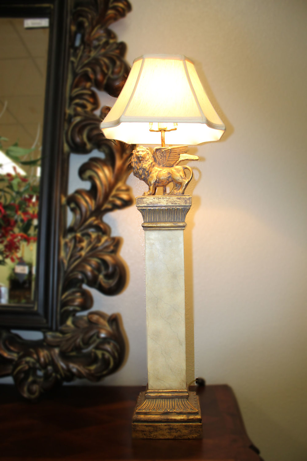 Pair of Griffin Buffet Lamps