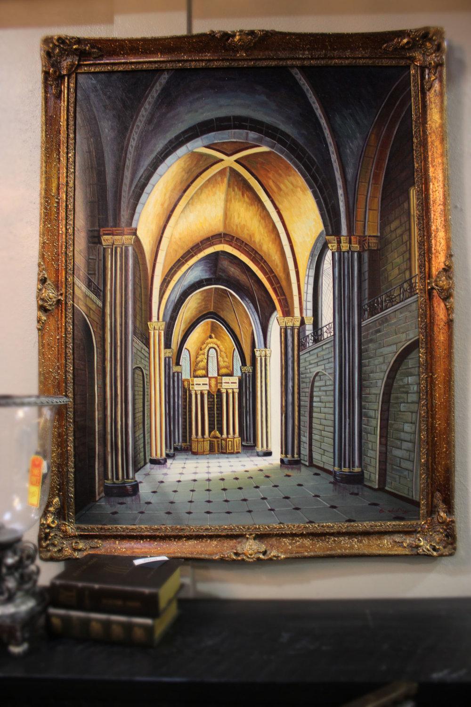 Arched Hallway Art