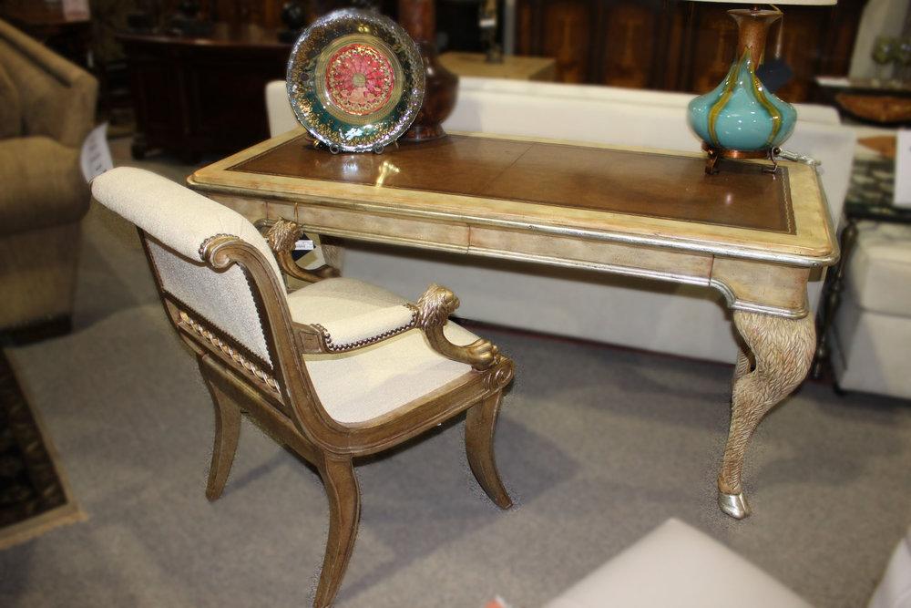 Maitland Smith Goat Leg Desk & Chair