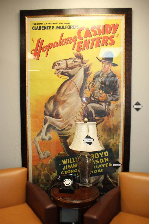 Hopalong Cassidy Enters Poster
