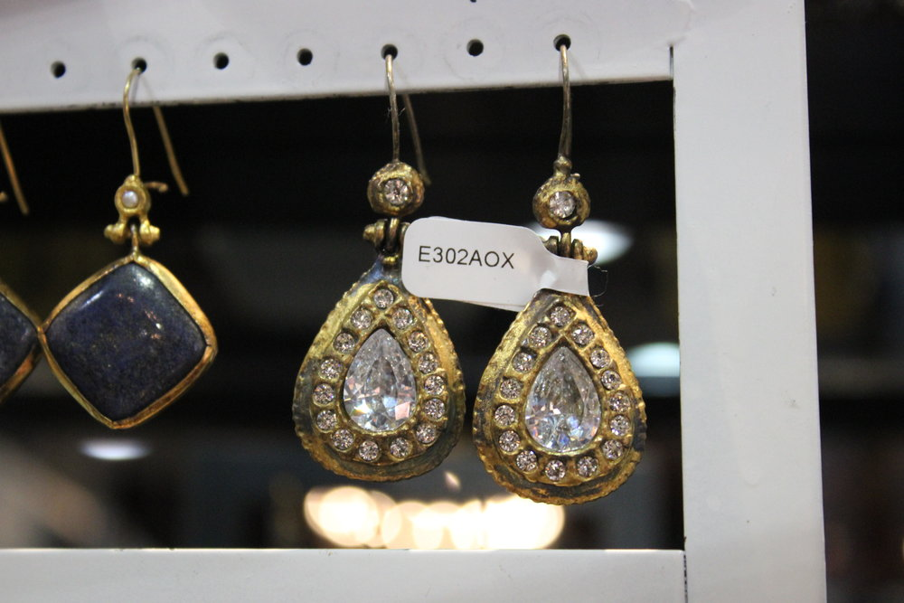 Berfu Crystal Earrings