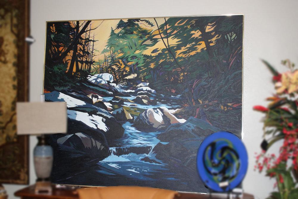 Hunslocks Creek by Jon Carsman