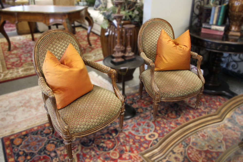 Pair of Minton Spidell Arm Chairs