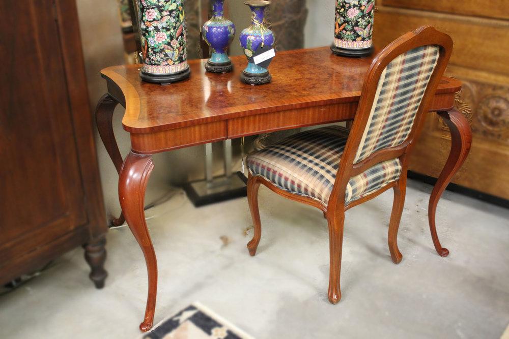 Queen Anne Desk & Chair