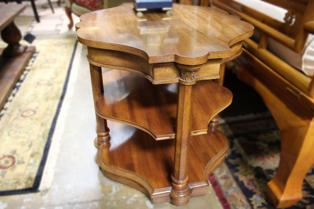 Pair of 3 Tier End Tables