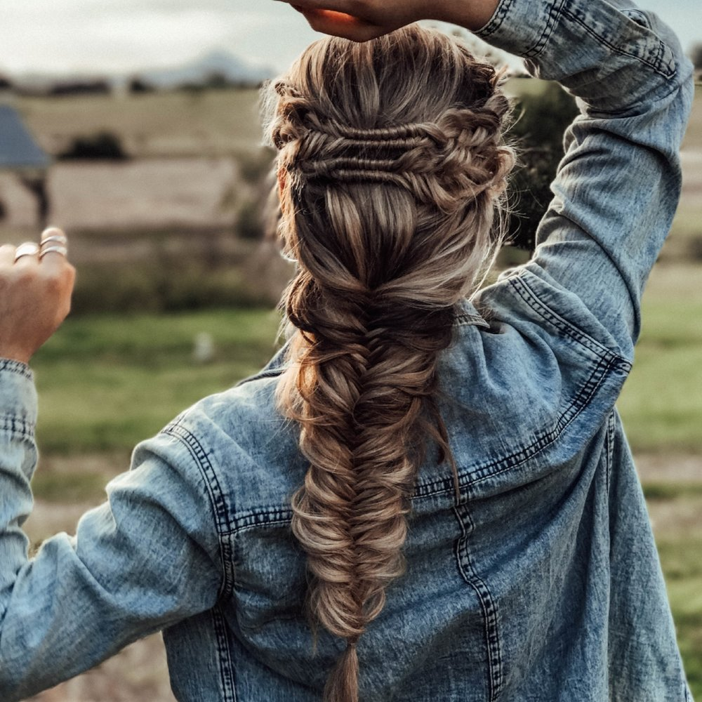 Fishtail Braids by Shayla Jay