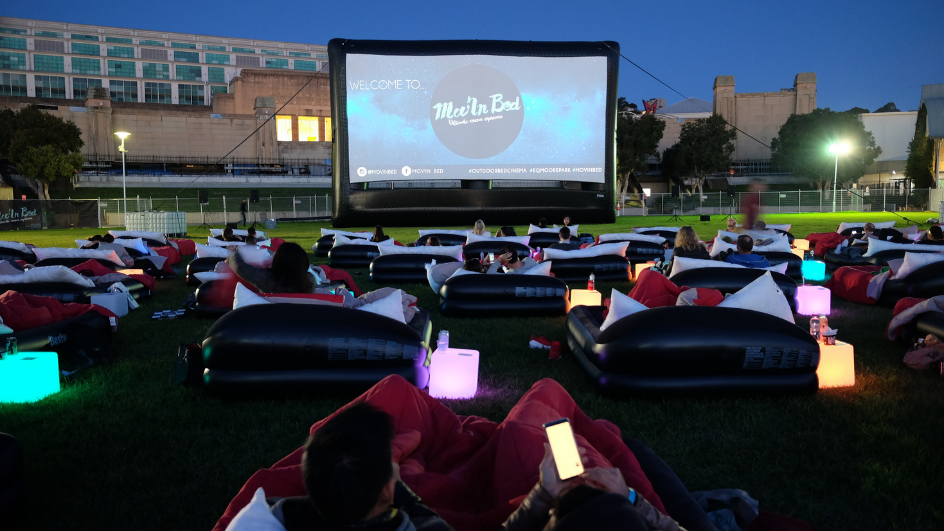 outdoor movie date night idea sydney