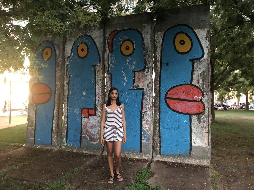 Berlin Wall - Close to Potsdamer Platz Mall