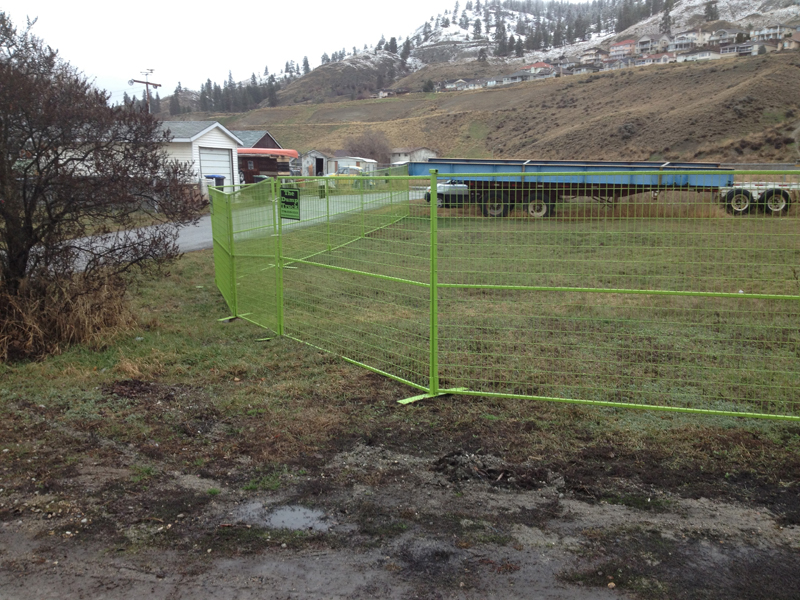 TEMPORARY FENCE -