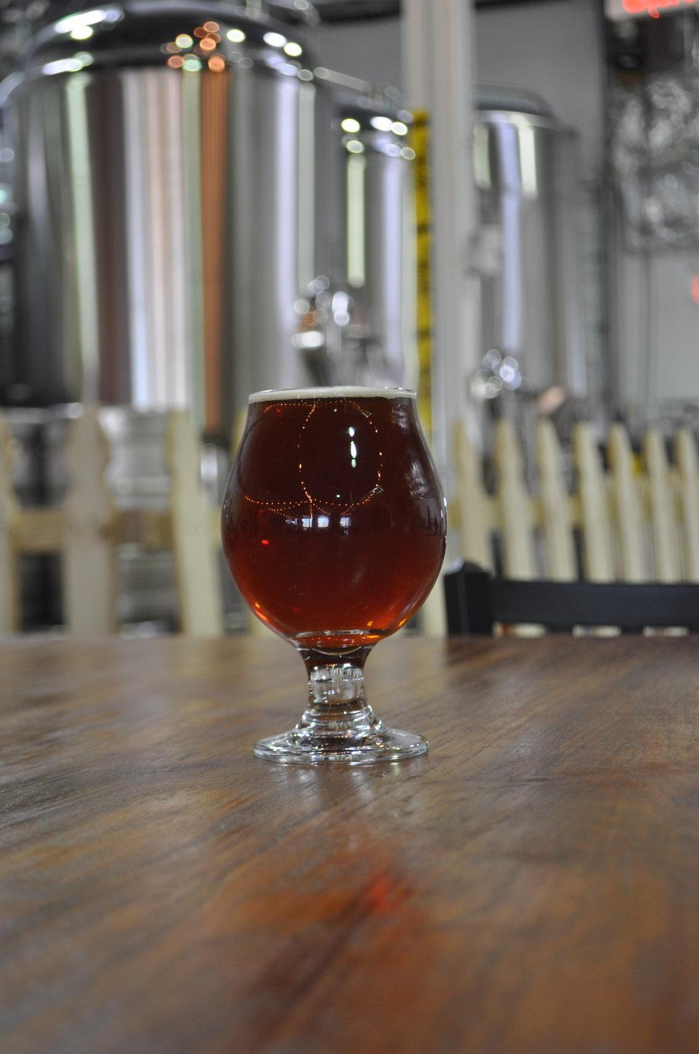 5 Round KO Barrel - Aged Amber Ale - 8.1% abv -