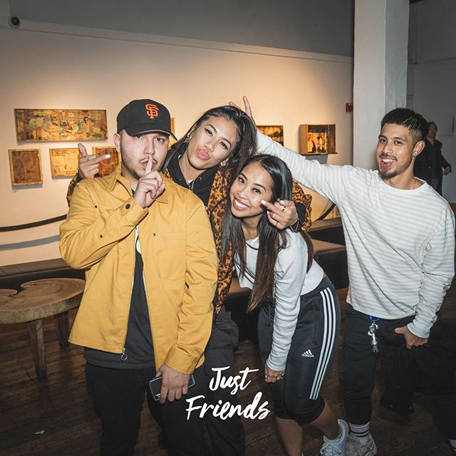 May 2019, bring your friends. #justfriendsparty