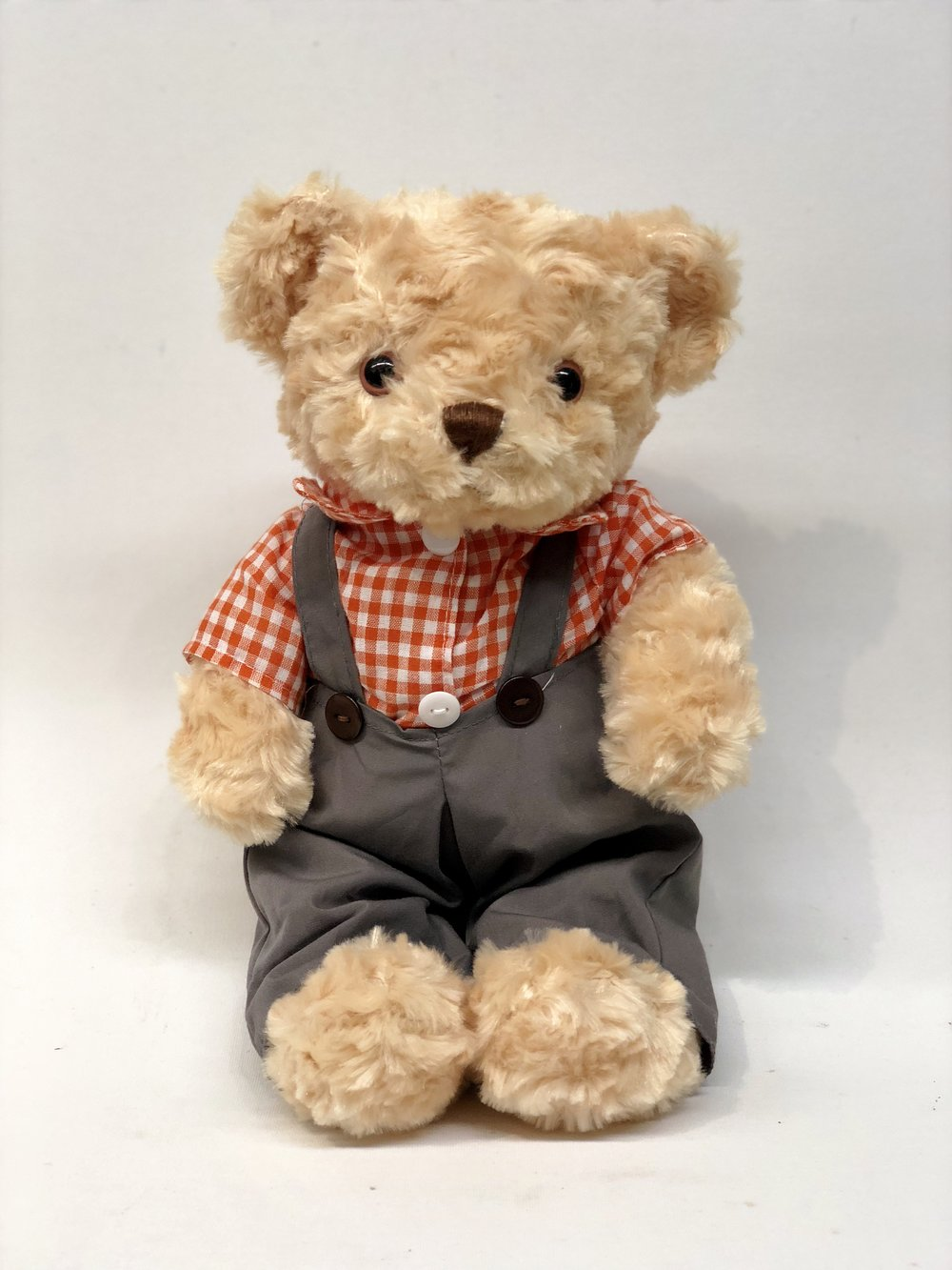 Overalls Teddy Bear -