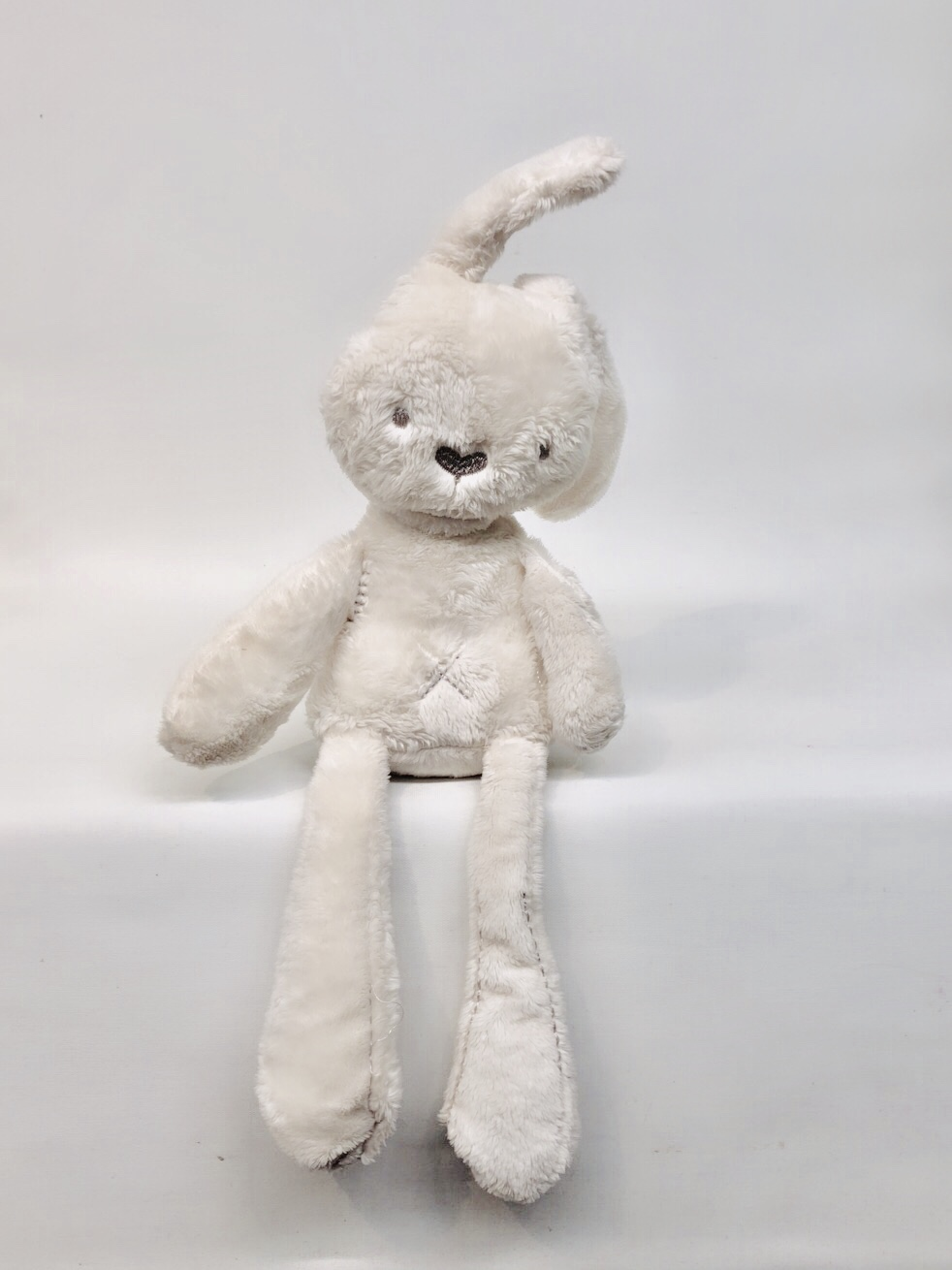 Gray Slim Bunny -