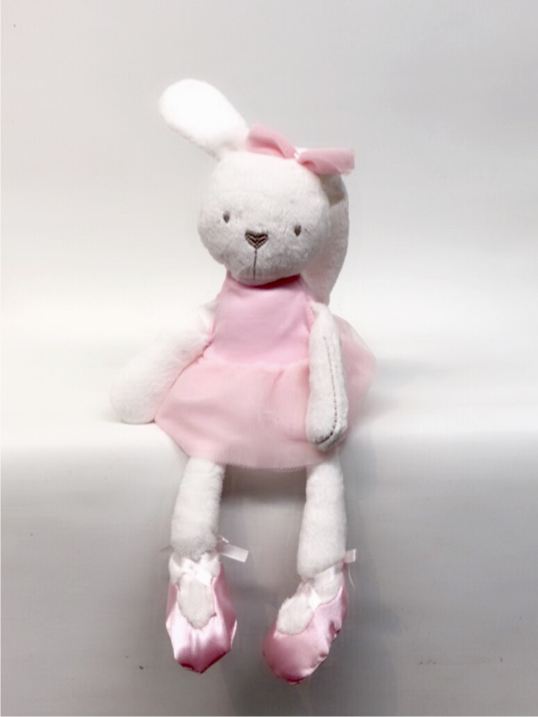 Pink Dress Slim Bunny -