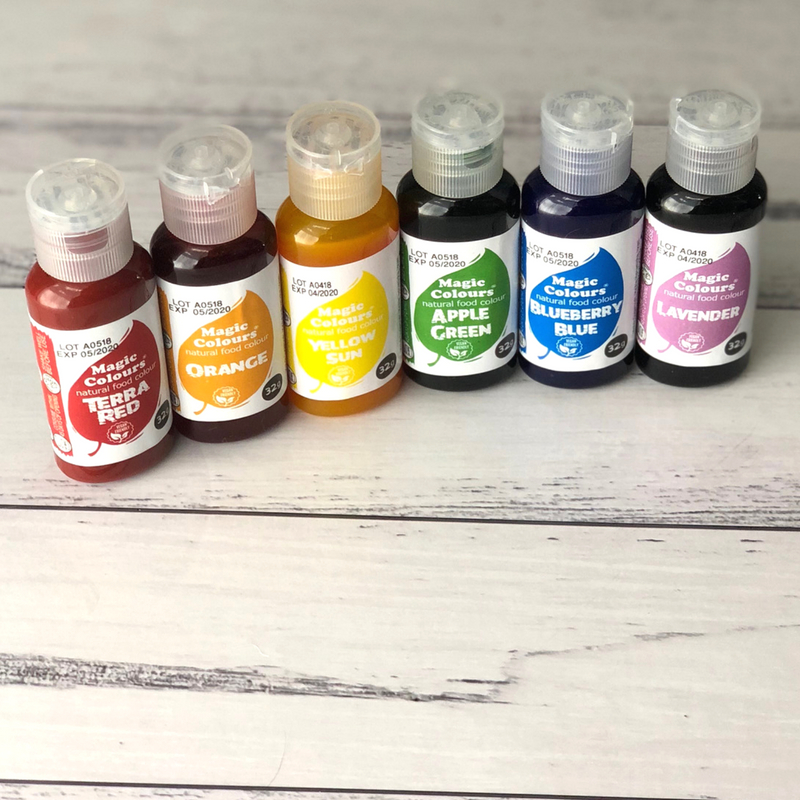 Product Review: Natural Food Gels from Magic Colours ...
