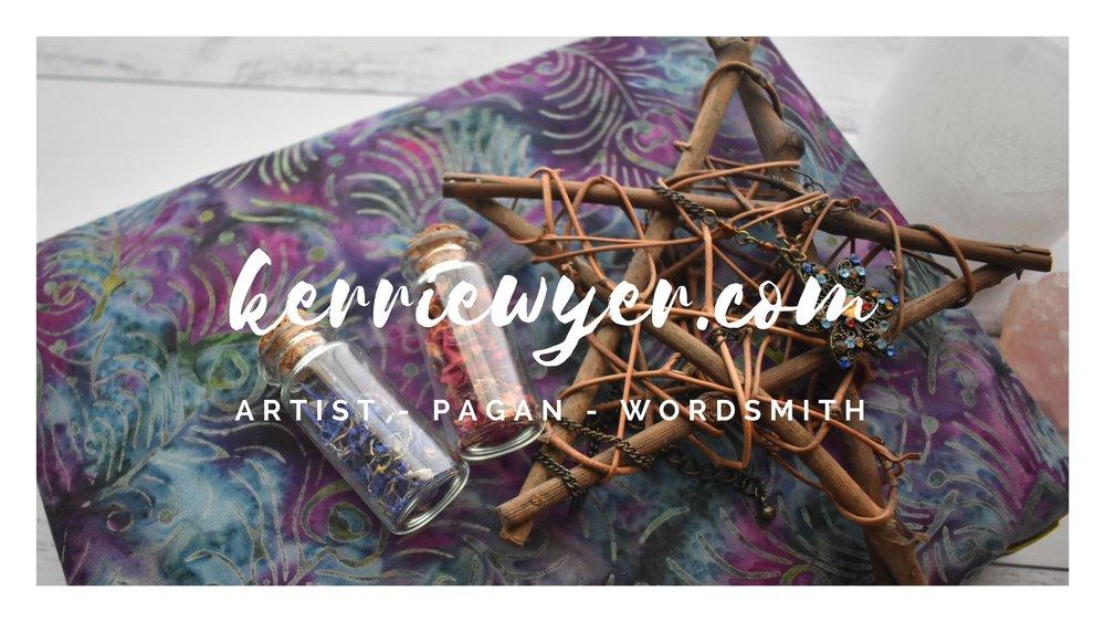 Bullet Journalling - Pagan Blog - Stickers - Photography - Metaphysical Ephemera