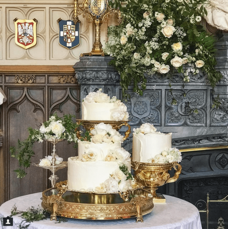 Royal Wedding Cake Violet Bakery