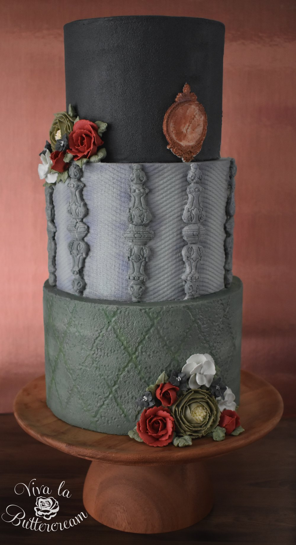 The Lady Gray - 100% Buttercream - by Kerrie Wyer