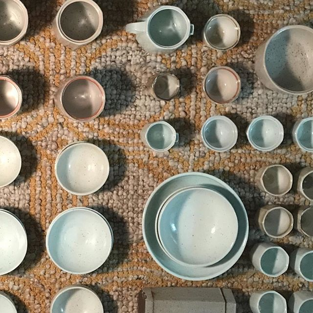 New inventory pinging and fresh out of the kiln for @utahartmarket Thursday 11/29 - Saturday 12/1 and @saltandhoneymarket Sunday 12/2 - Saturday 12/8. ————————————————————————#utahartist #slcart #handcrafted #pottery #handmadegifts #happyholidays