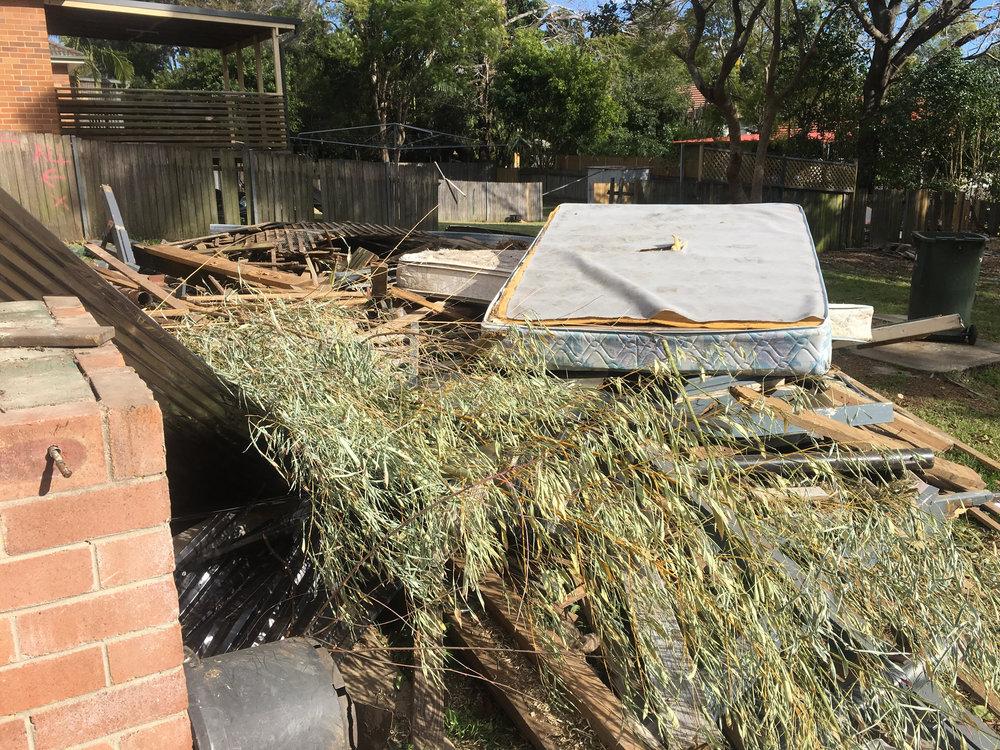 yard clean -