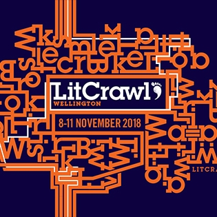 LitCrawl Extended - 8 - 11 November 2018.Surrounding our epic Saturday night Crawl is our Extended series of 22 ticketed and 6 free events. Dive in and enjoy a full long-weekend of literary goodness.More info.