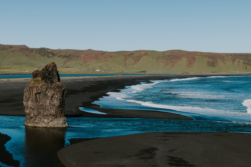 Black Sand Beaches, Vik.