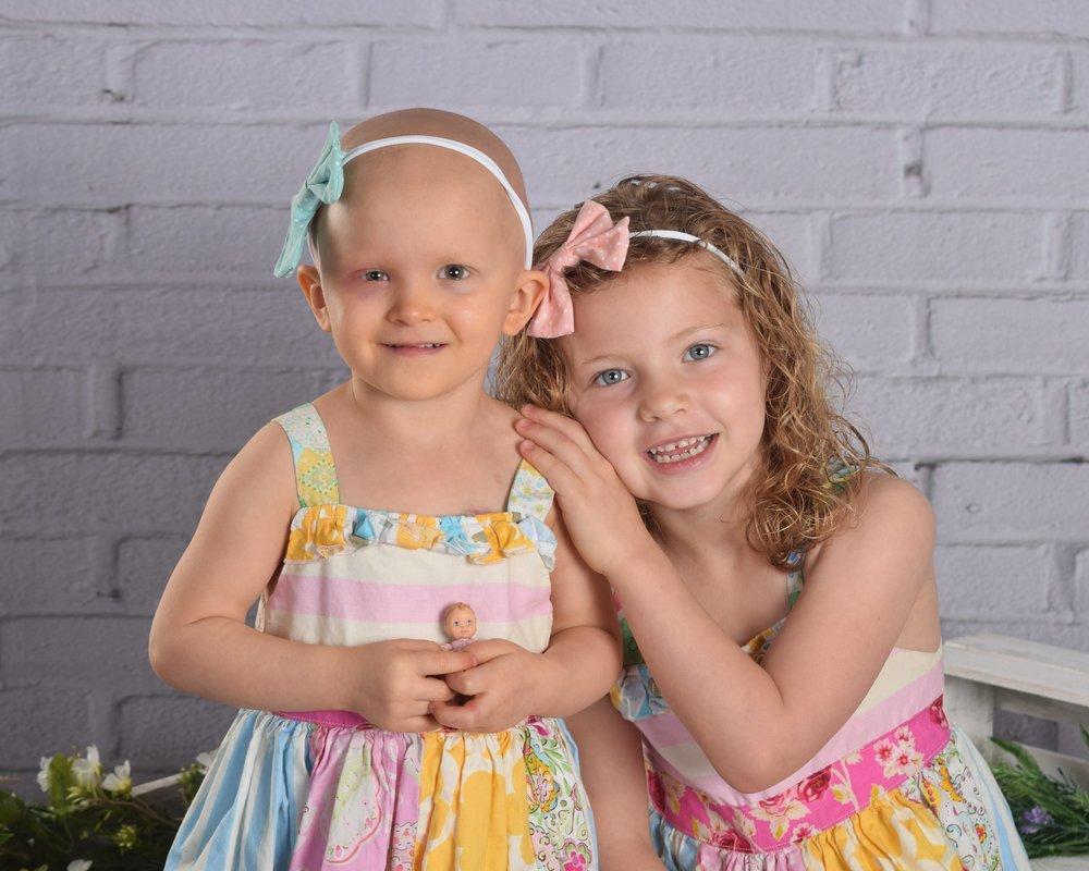 Paisley & sister Savannah