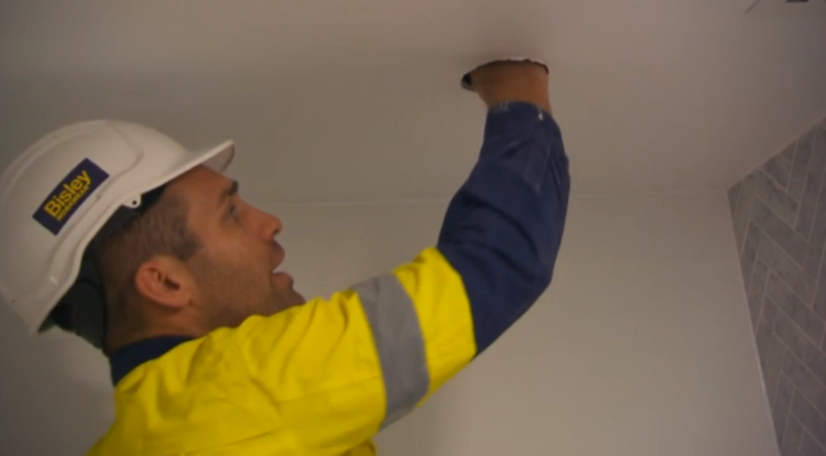 """2ae484948fe Plaster might have to be replaced and """"it s a big issue for Hayden"""". He ran  his pipes horizontally which is a no-no and probably hadn t told anyone  else and ..."""